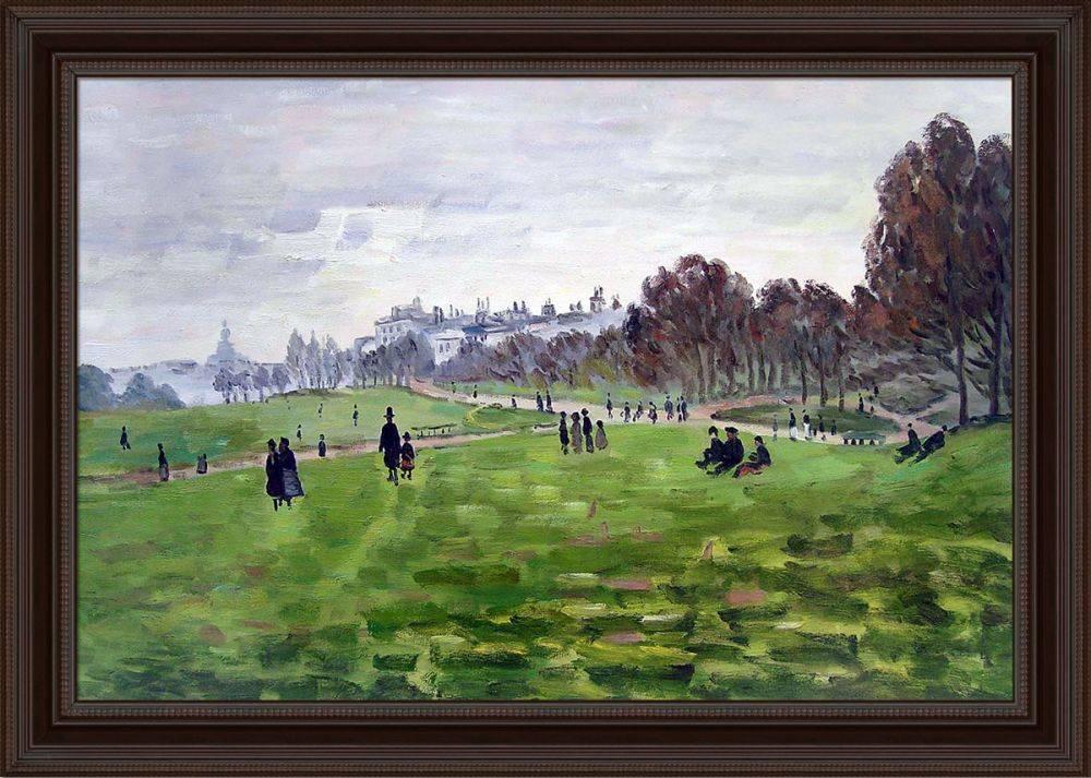 Green Park in London Pre-Framed