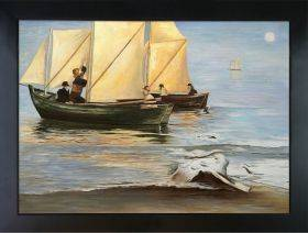 Fishingboats Pre-Framed