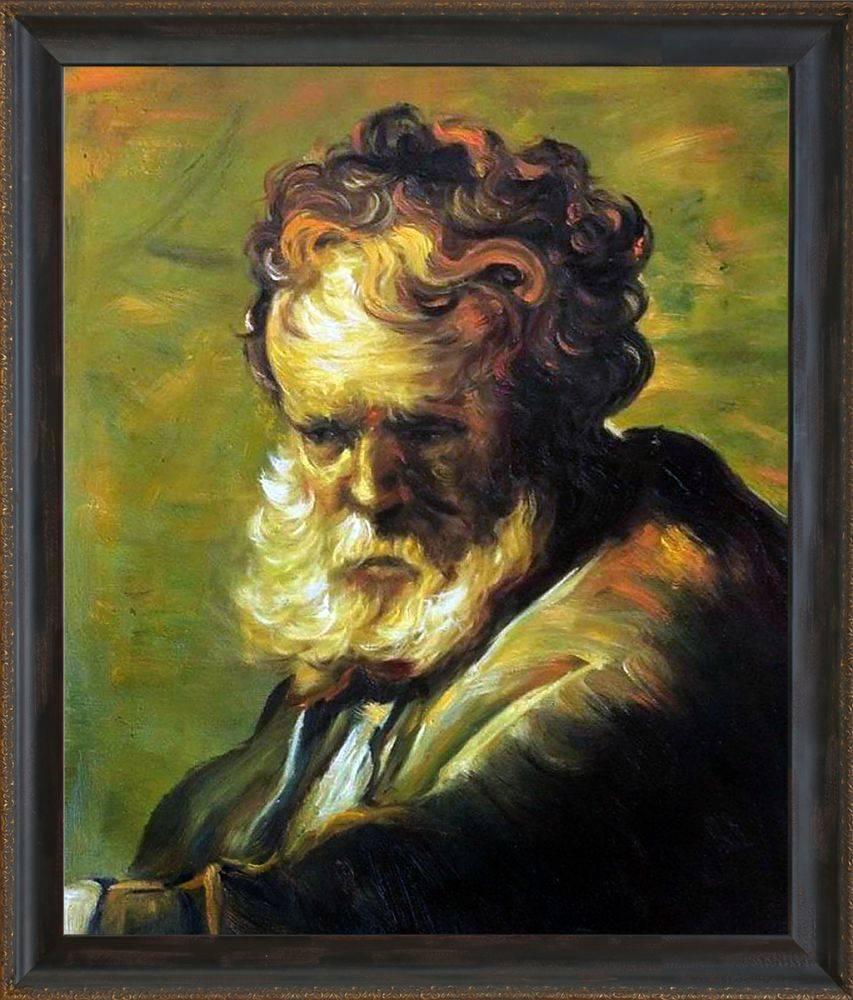 A Bust of an Old Man Pre-Framed