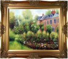 The Garden at Fontenay Pre-framed
