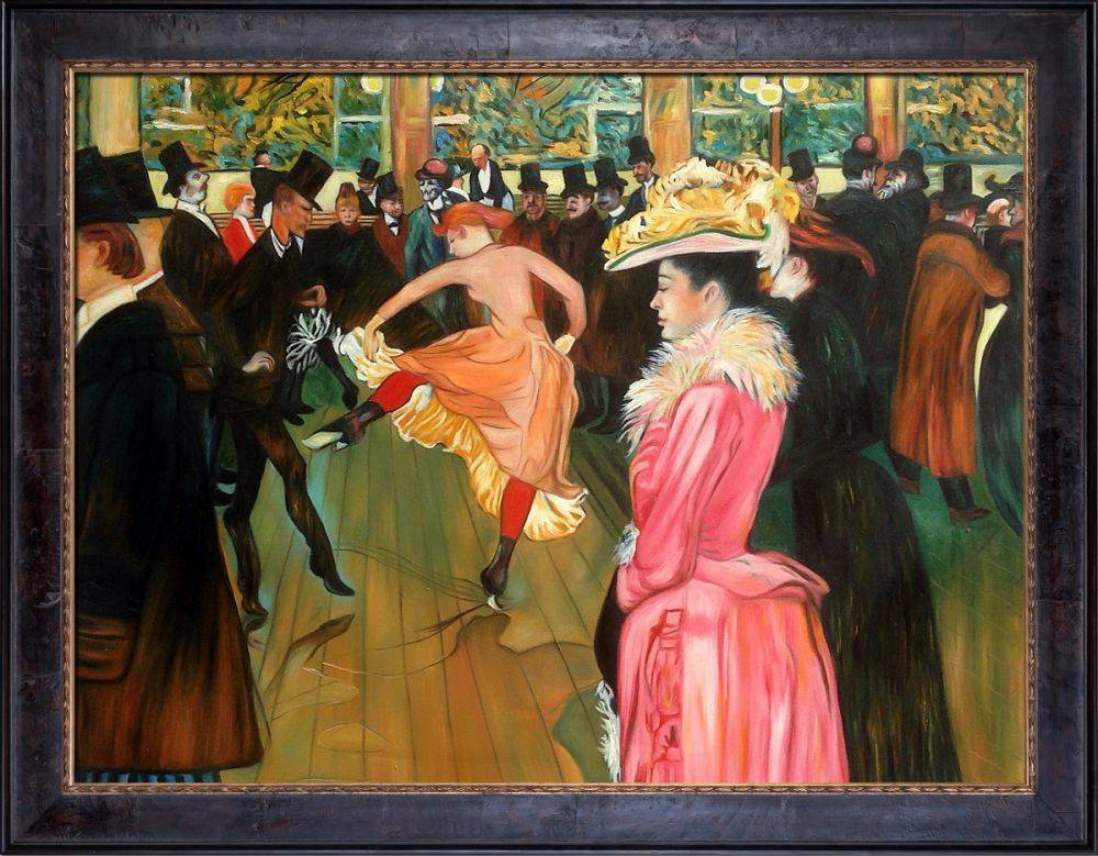 At the Moulin Rouge, The Dance Pre-Framed
