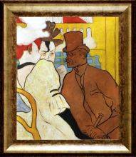The Englishman at the Moulin Rouge, 1892 Pre-Framed