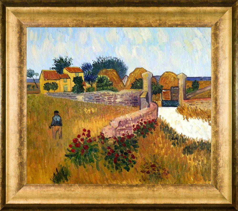 Farm House in Provence Pre-Framed