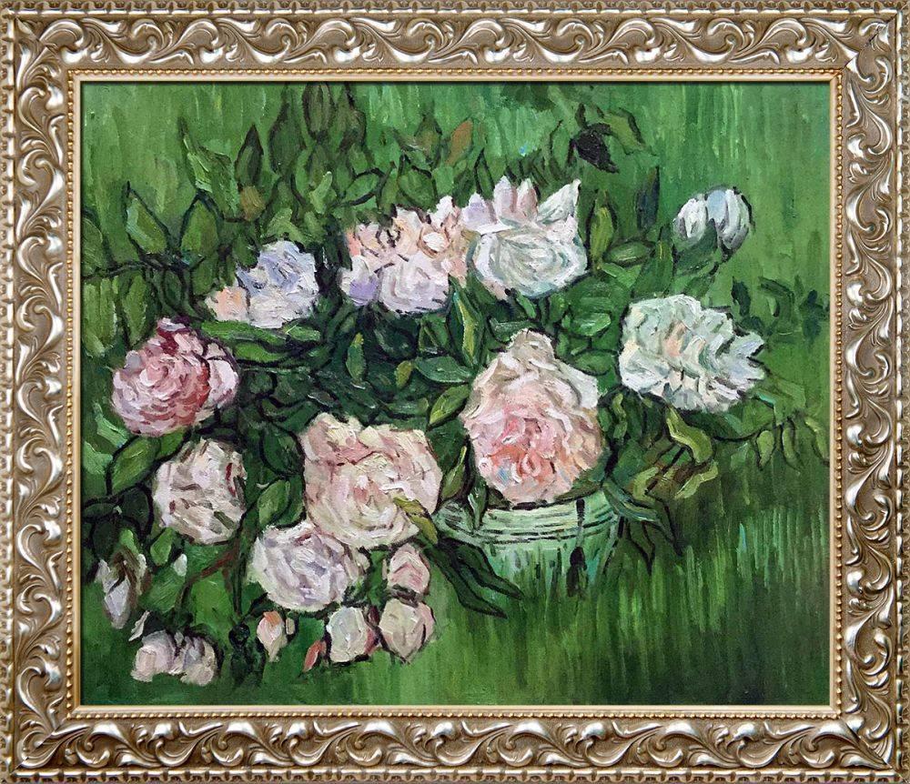 Still Life - Pink Roses Pre-Framed