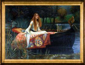 The Lady of Shalott Pre-Framed