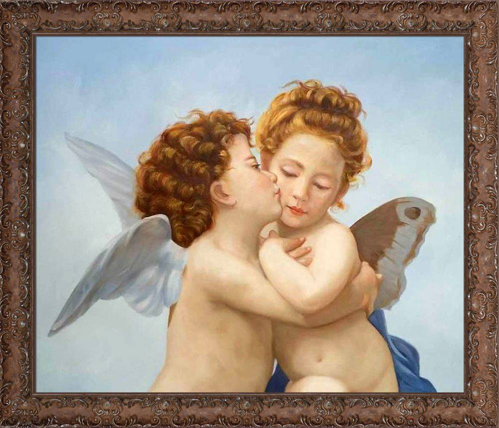 First Kiss Pre-Framed