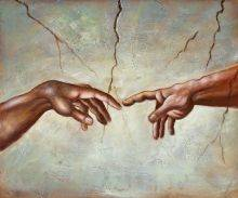 Creation of Adam (affordable line)
