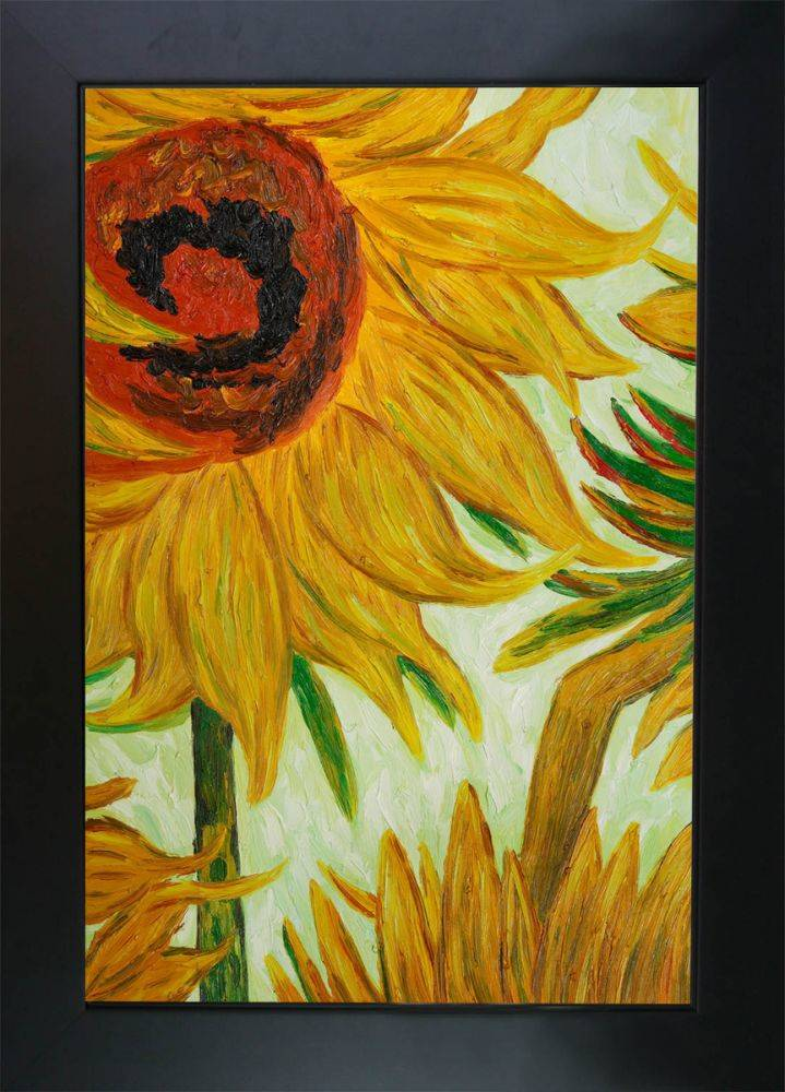 Sunflowers (detail) Pre-Framed
