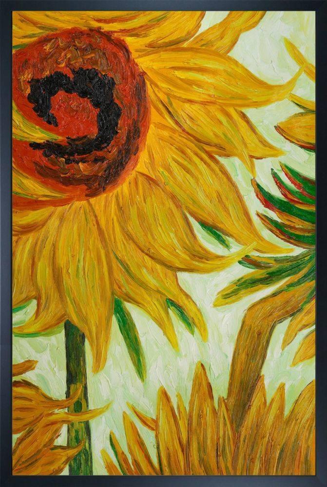 Sunflowers (detail) Pre-Framed