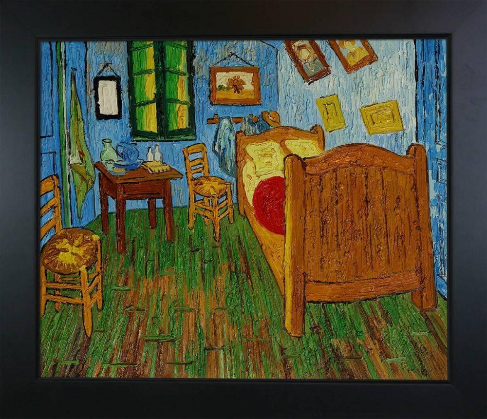 vincent van gogh bedroom at arles pre framed rh overstockart com bedroom in arles medium bedroom in arles location