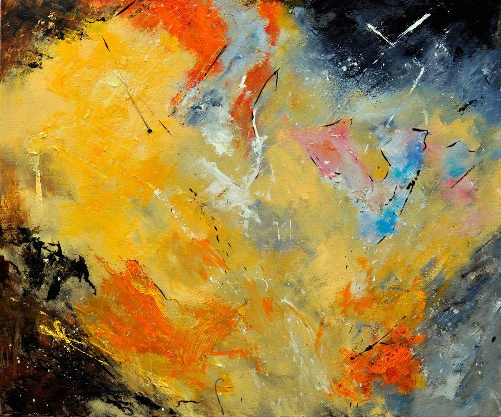 Abstract 88210112 (yellow)