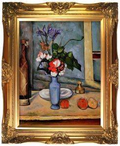 La Vase Bleu Pre-Framed