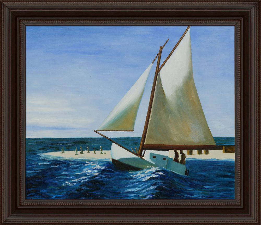 The Martha McKean of Wellfleet Pre-Framed