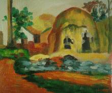 Yellow Haystacks (The Golden Harvest)