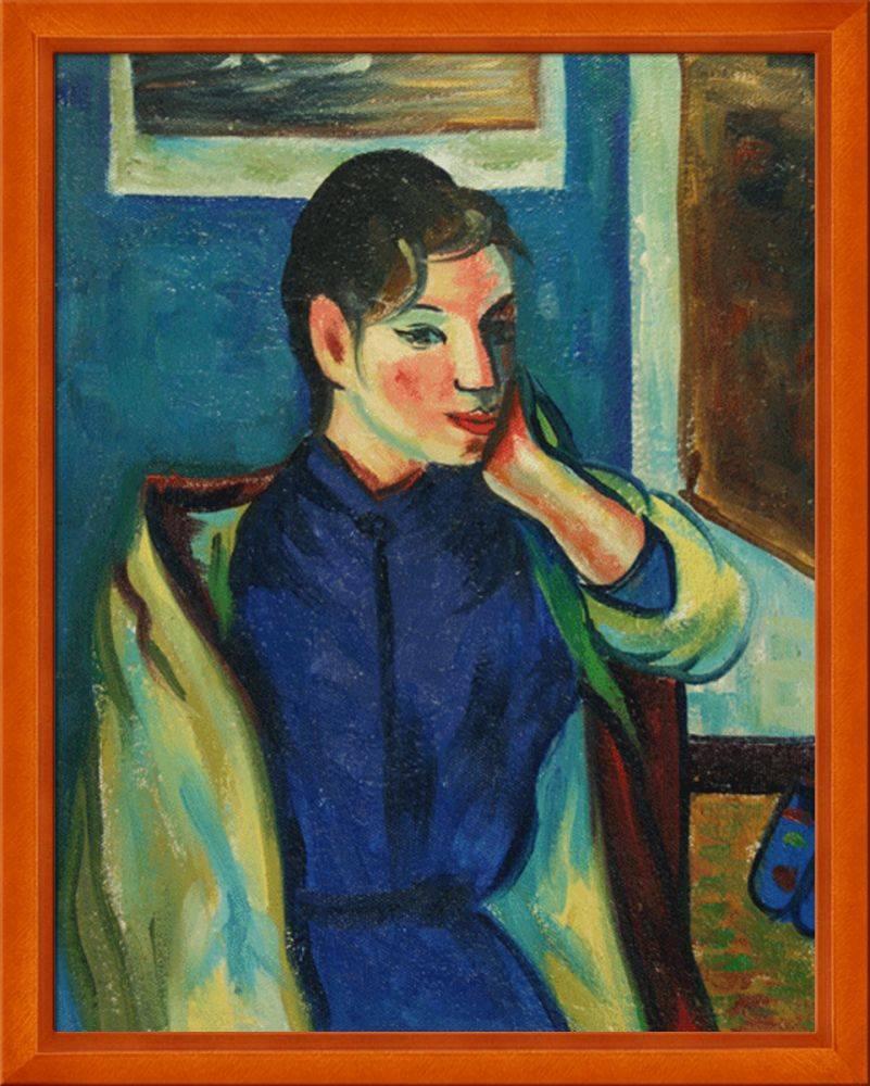 Gauguin - Madeleine Bernard Pre-Framed
