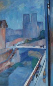 Glimpse of Notre Dame