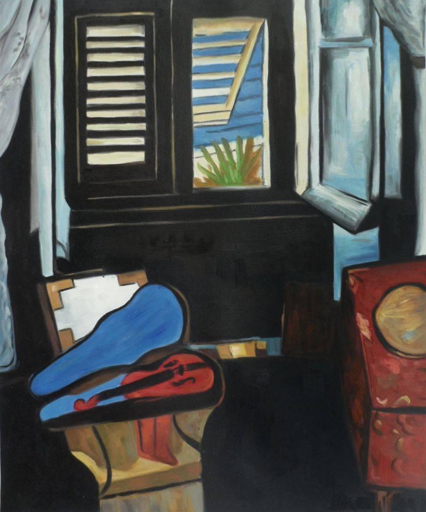 Interior with a Violin