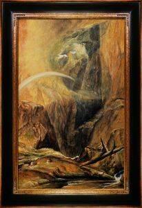 The Devil's Bridge Saint Godard Pre-Framed