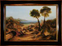 The Bay of Baiae with Apollo and the Sibyl Pre-Framed