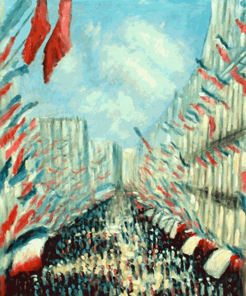 La Rue Montorgueil, Paris, Festival of June