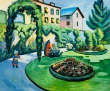 The Macke Garden at Bonn (Gartenbild)