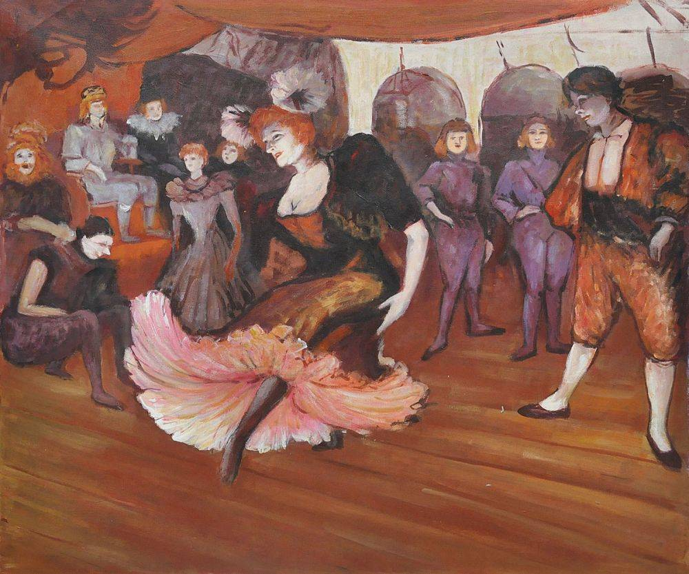 Marcelle Lender Dancing in the Bolero in Chilperic, 18