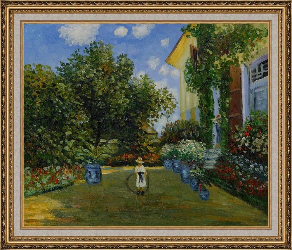La Casa Della Artista Pre-Framed