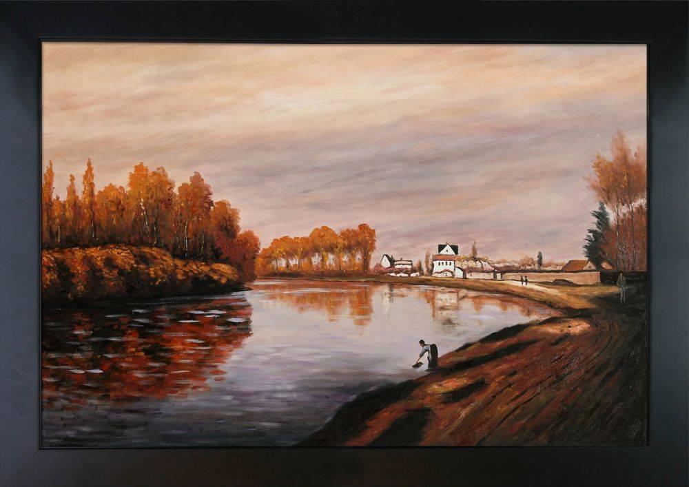 The Seine at Argenteuil Pre-Framed