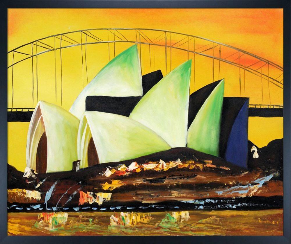 Sydney's Opera House Pre-Framed