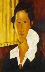 Portrait of Anna Zborovska