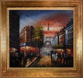 Au Revoir To The Light or Paris II Pre-Framed