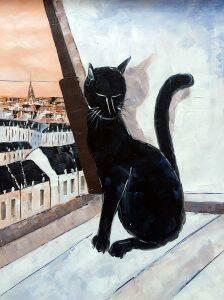 Black Cat is a Paris Master Reproduction