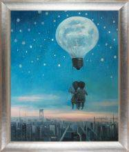 Our Love Will Light The Night Reproduction Pre-Framed