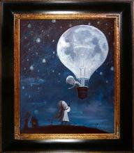 He Gave Me The Brightest Star Reproduction Pre-Framed