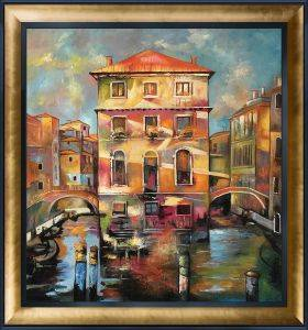 Piccola Venezia Reproduction Pre-Framed