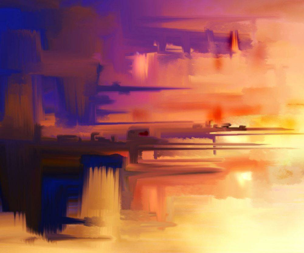 Abstract Composition 75