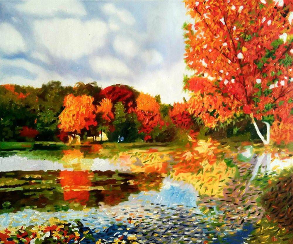 Autumn Landscape Reproduction