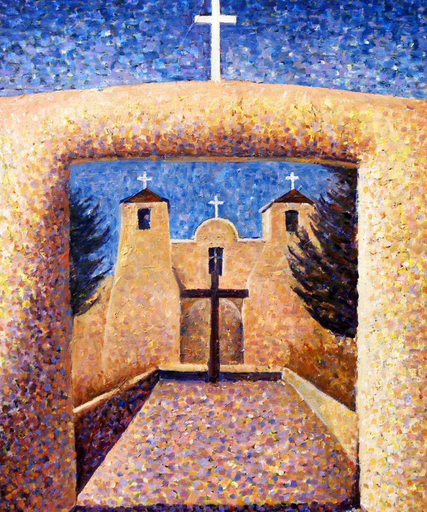 Taos Adobe Church