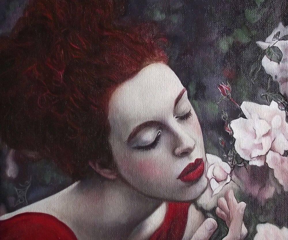 Perfume of White Roses