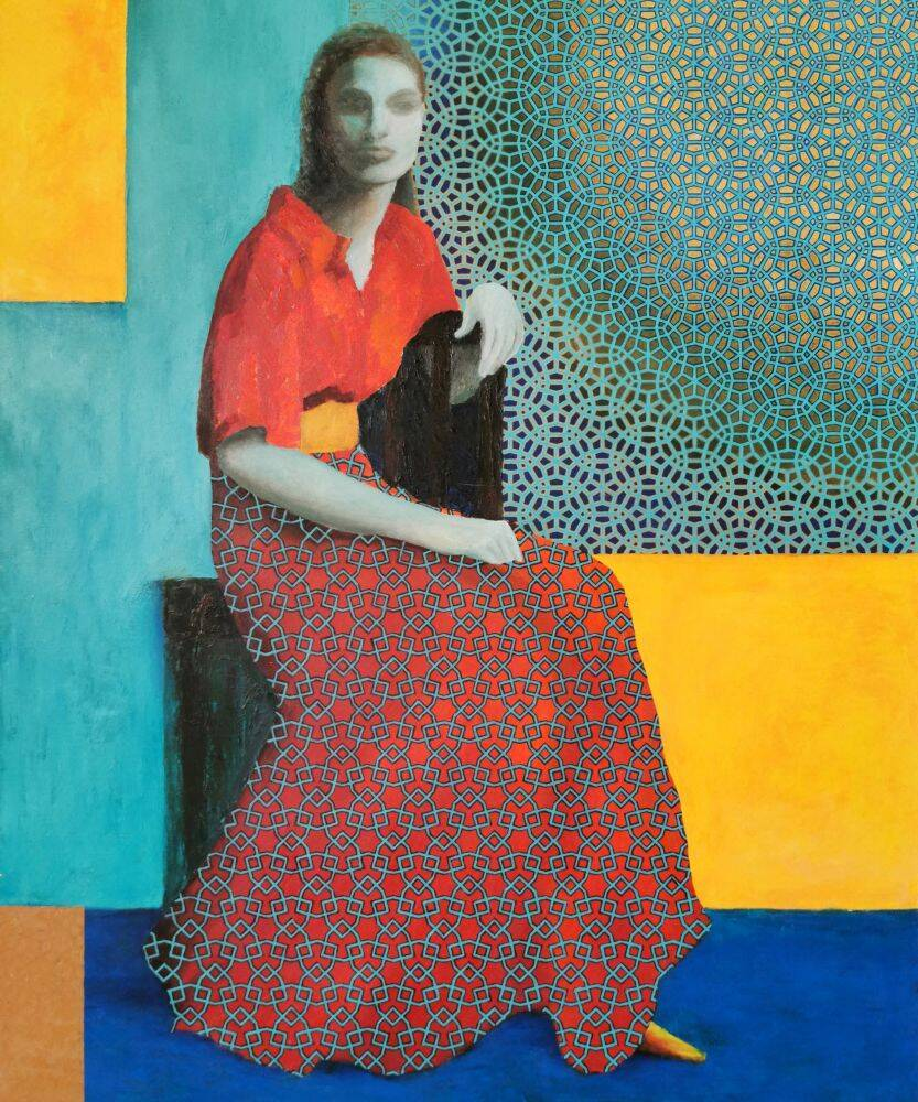 Woman - Elena Soroka Print