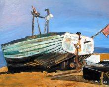Boat On Beach In Aldeburgh