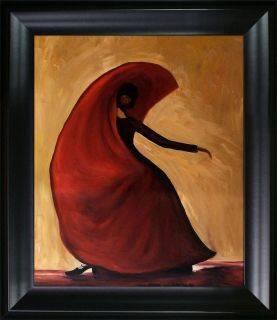Flamenco Reproduction Pre-Framed