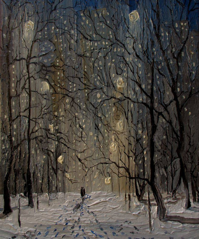 Winter New York Central Park