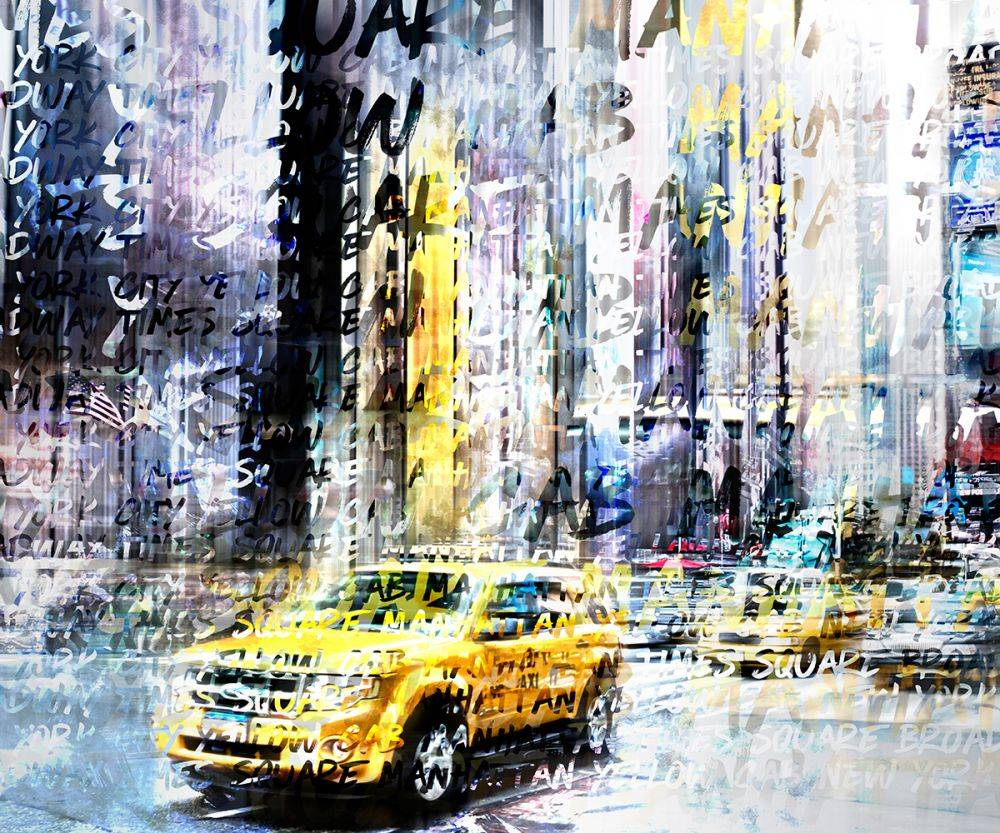 Times Square Streetscene