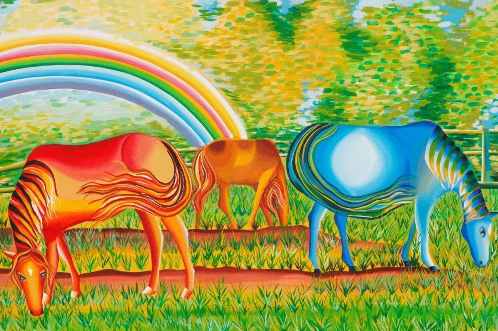 The Rainbow Accompanies