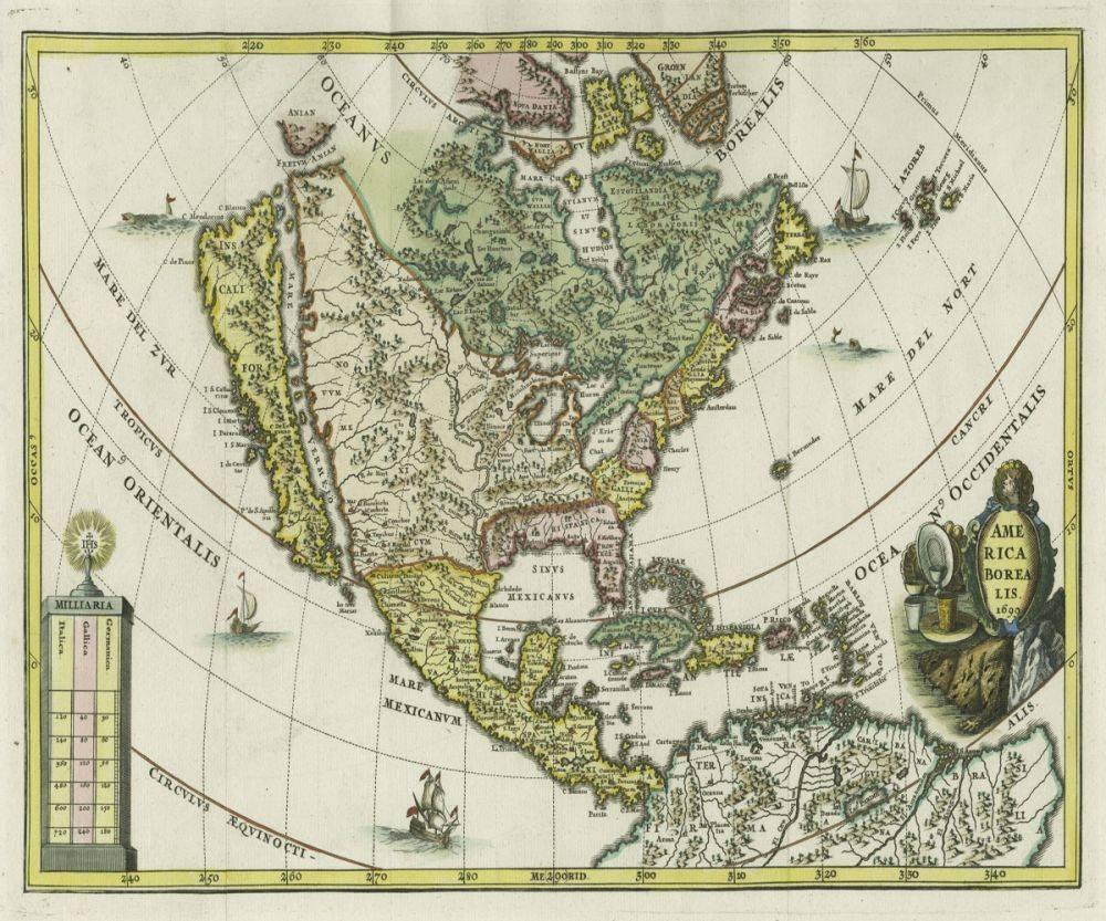 America Borealis, 1699