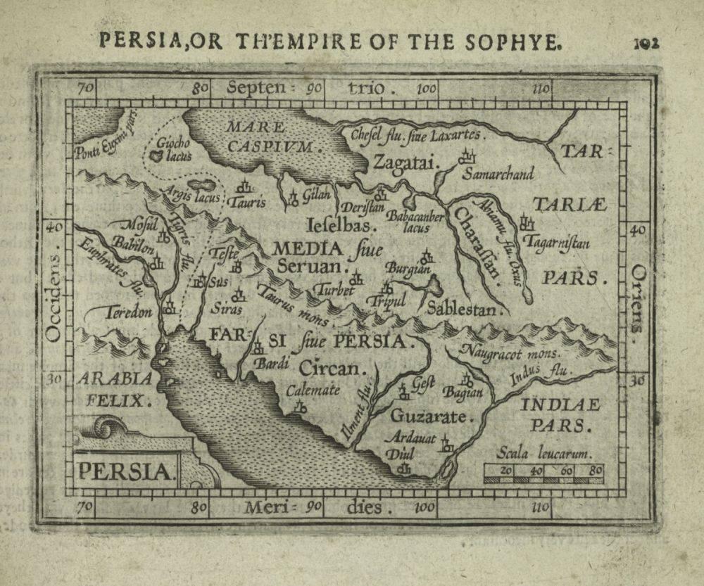 Persia, 1609