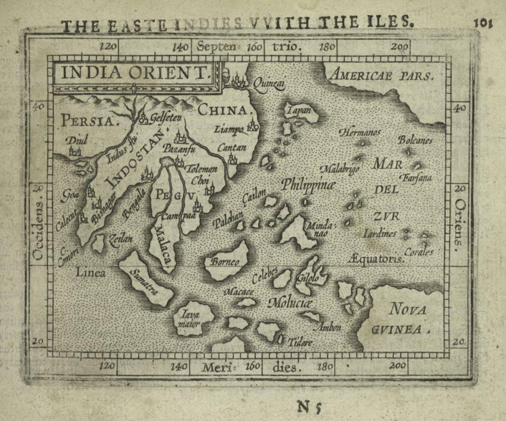 India Orient, 1603