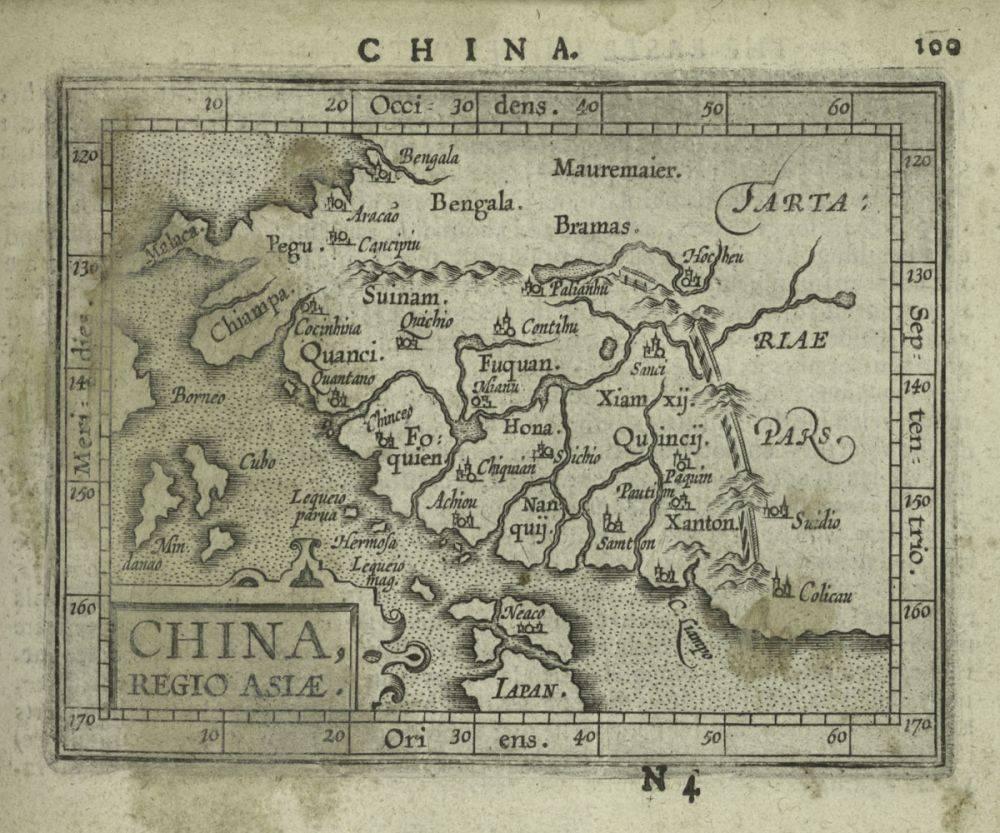 China, 1603