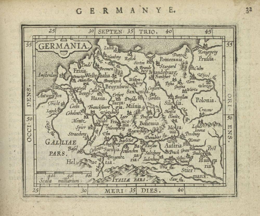 Germania, 1603